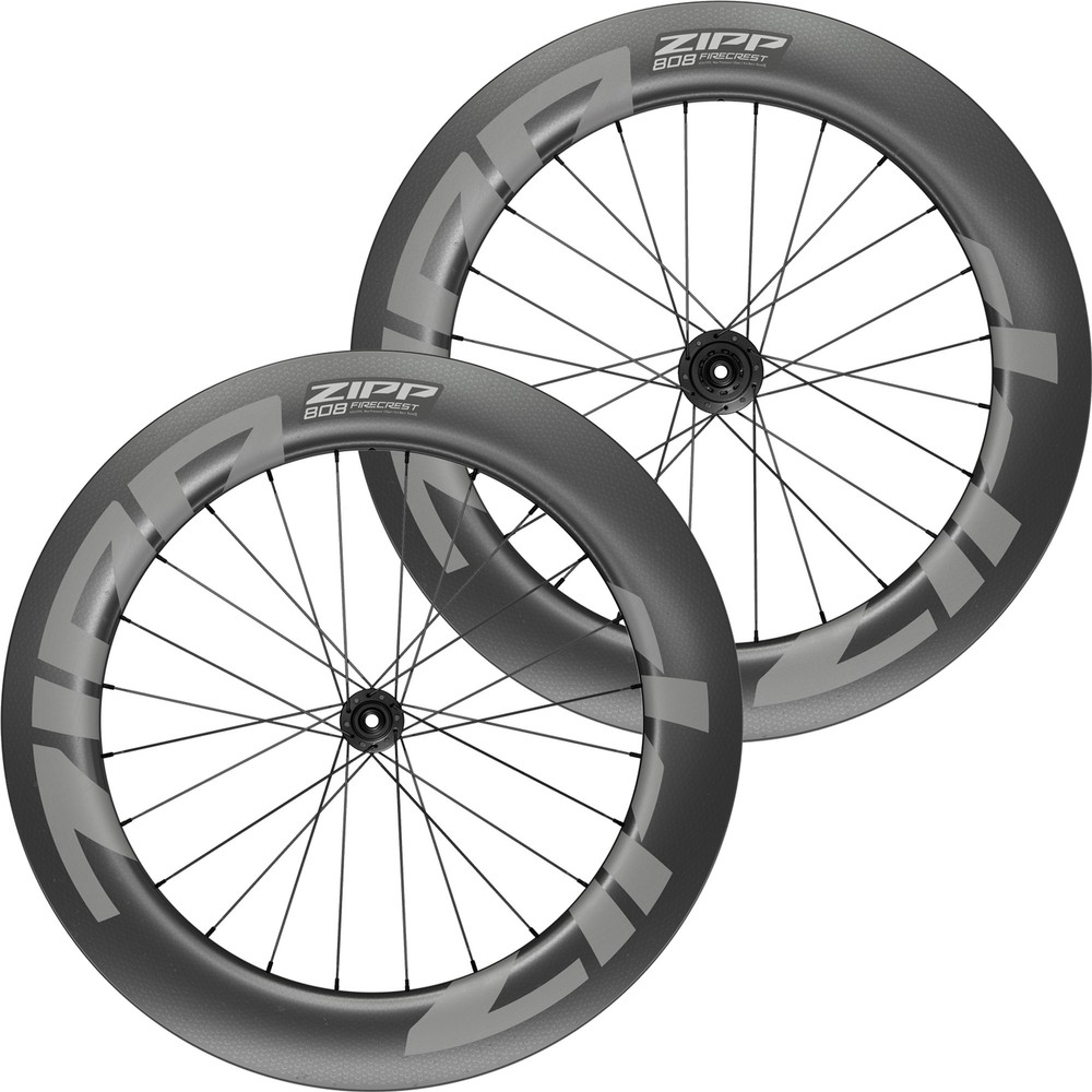 Zipp 808 Firecrest Carbon Tubeless Disc Brake Wheelset