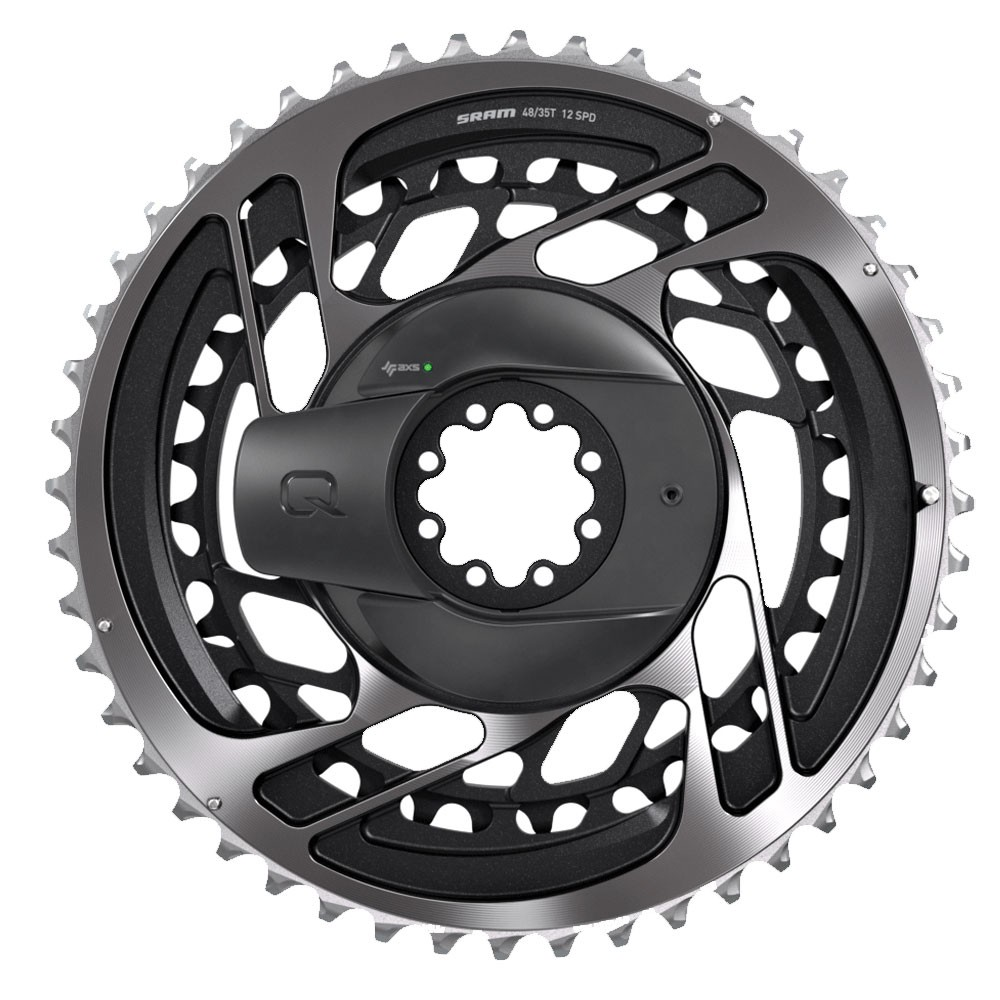 Quarq Power Meter Kit DM Red AXS D1 - Includes Chainrings