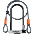 Kryptonite KryptoLok Mini U-Lock + FlexFrame Bracket Sold Secure Gold