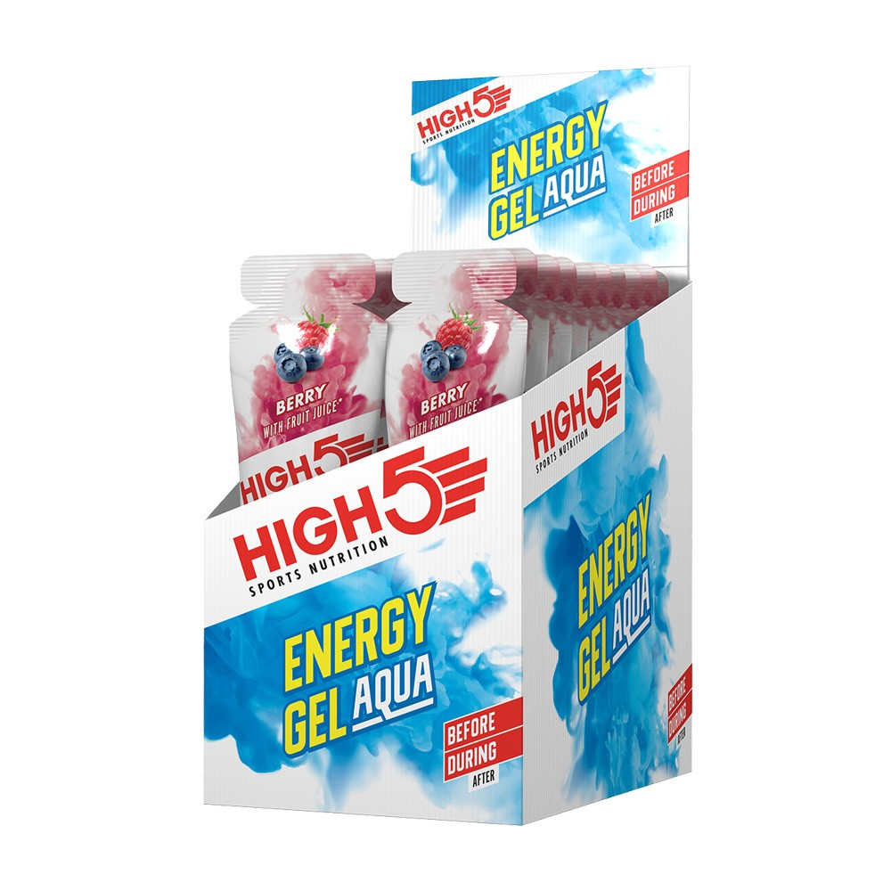 High5 Energy Gel Aqua Box Of 20 X 66g