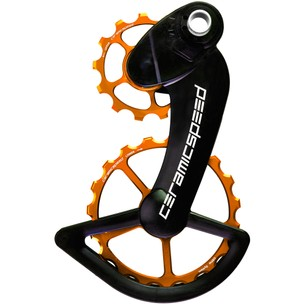 CeramicSpeed OSPW Coated Campagnolo EPS 12-Speed Orange Ltd Edition