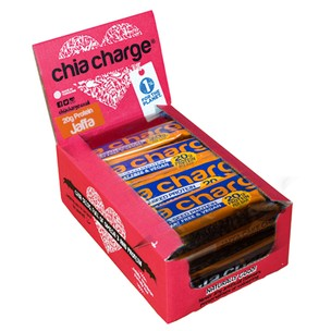 Chia Charge Protein Crispy Box Of 10 X 60g Bars (Vegan)