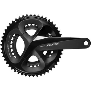 Shimano 105 R7000 Double Chainset - HollowTech II 52/36