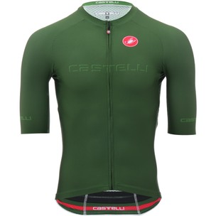 Castelli Aero Race 6.0 Block Short Sleeve Jersey