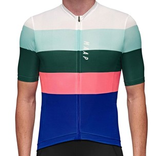 MAAP Fat Stripe Team Short Sleeve Jersey