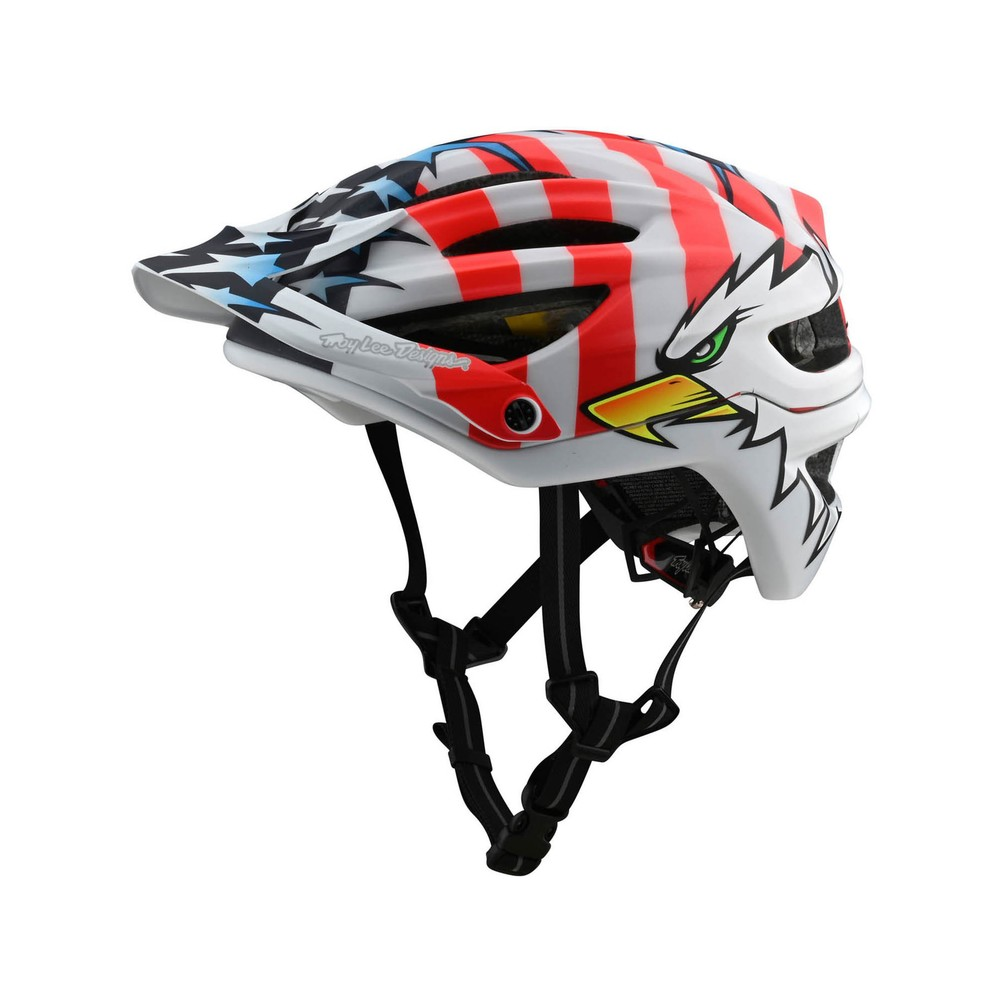 Troy Lee Designs  A2 MIPS Screaming Eagle Limited Edition MTB Helmet