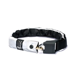 Hiplok V1.5 Superbright Wearable Chain Lock Sold Secure Silver