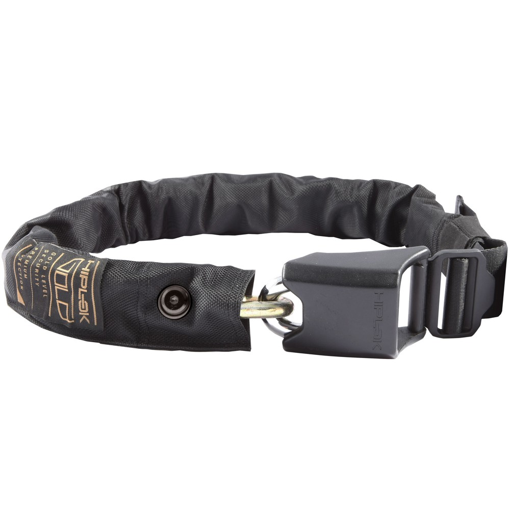 Hiplok Gold Wearable Chain Lock Sold Secure Gold