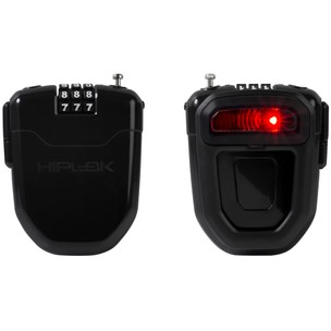 Hiplok FLX Wearable Retractable Combination Lock With Rear Light