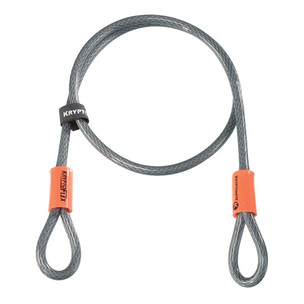 Kryptonite Kryptoflex 410 120cm / 4ft Double Loop Security Bike Cable