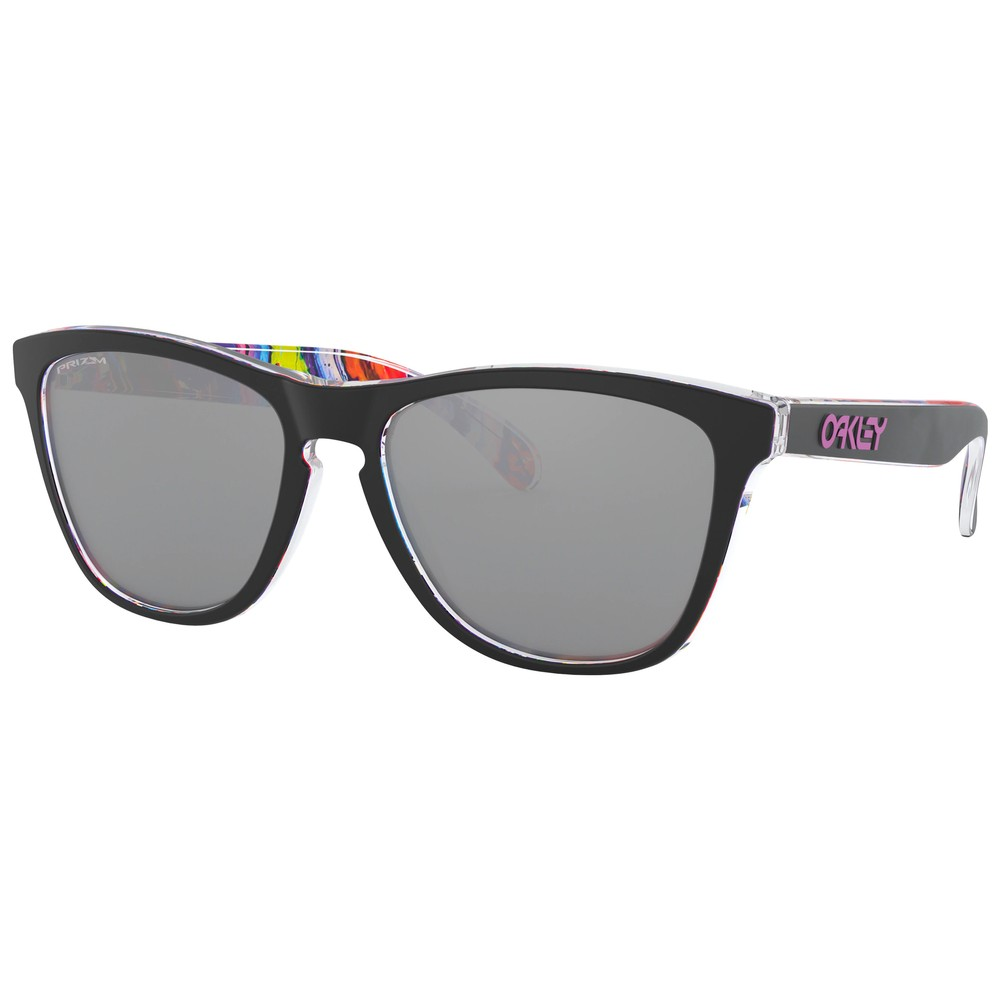 Oakley Kokoro Collection Frogskins Sunglasses With Prizm Black Lens
