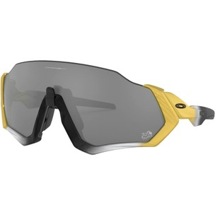 Oakley TdF Collection Flight Jacket Sunglasses With Prizm Black Lens