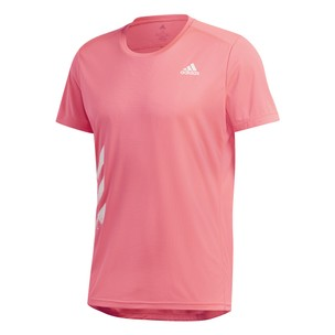 Adidas Run It 3-Stripes PB Short Sleeve Tee