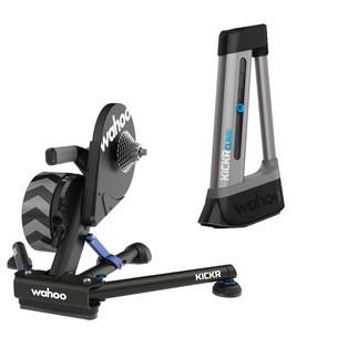Wahoo KICKR V5 Smart Turbo Trainer + KICKR CLIMB Grade Simulator KOM Bundle