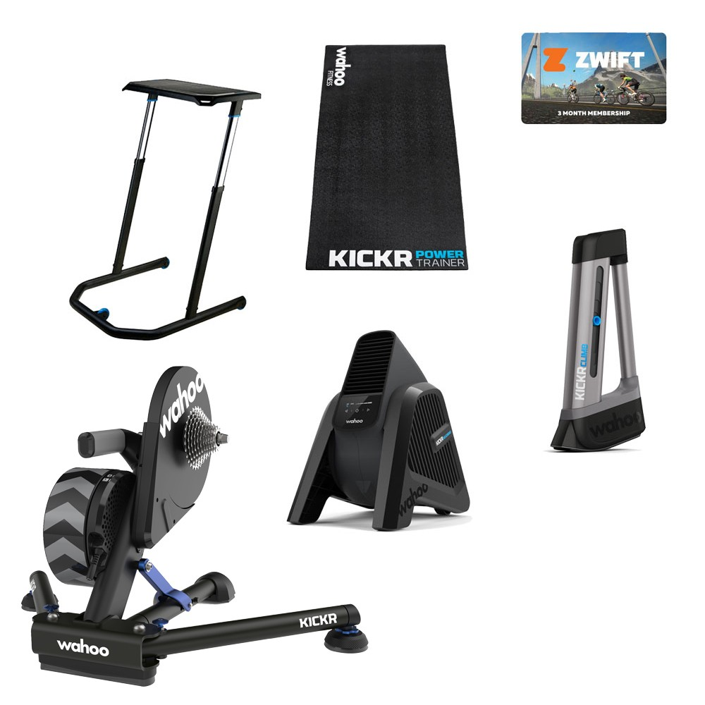 Wahoo Pain Cave Superstar KICKR V5 Turbo Trainer Zwift Bundle