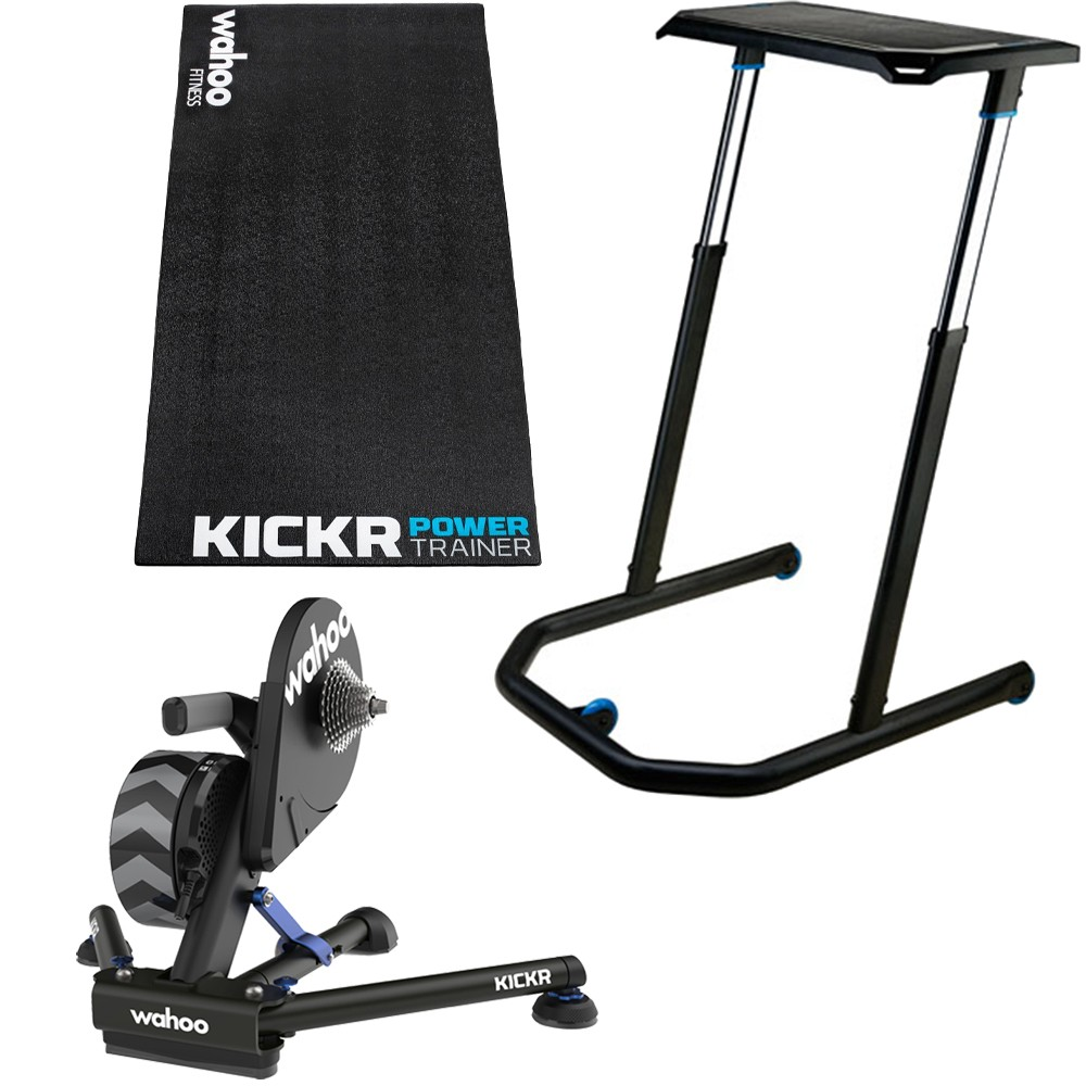 Wahoo Pain Cave KICKR V5 Turbo Trainer Bundle