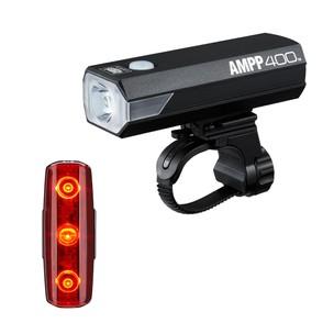 Cateye AMPP 400 & Rapid Micro Light Set