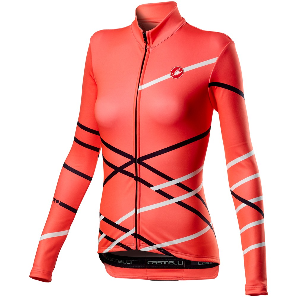 Castelli Diagonal Womens Long Sleeve Jersey