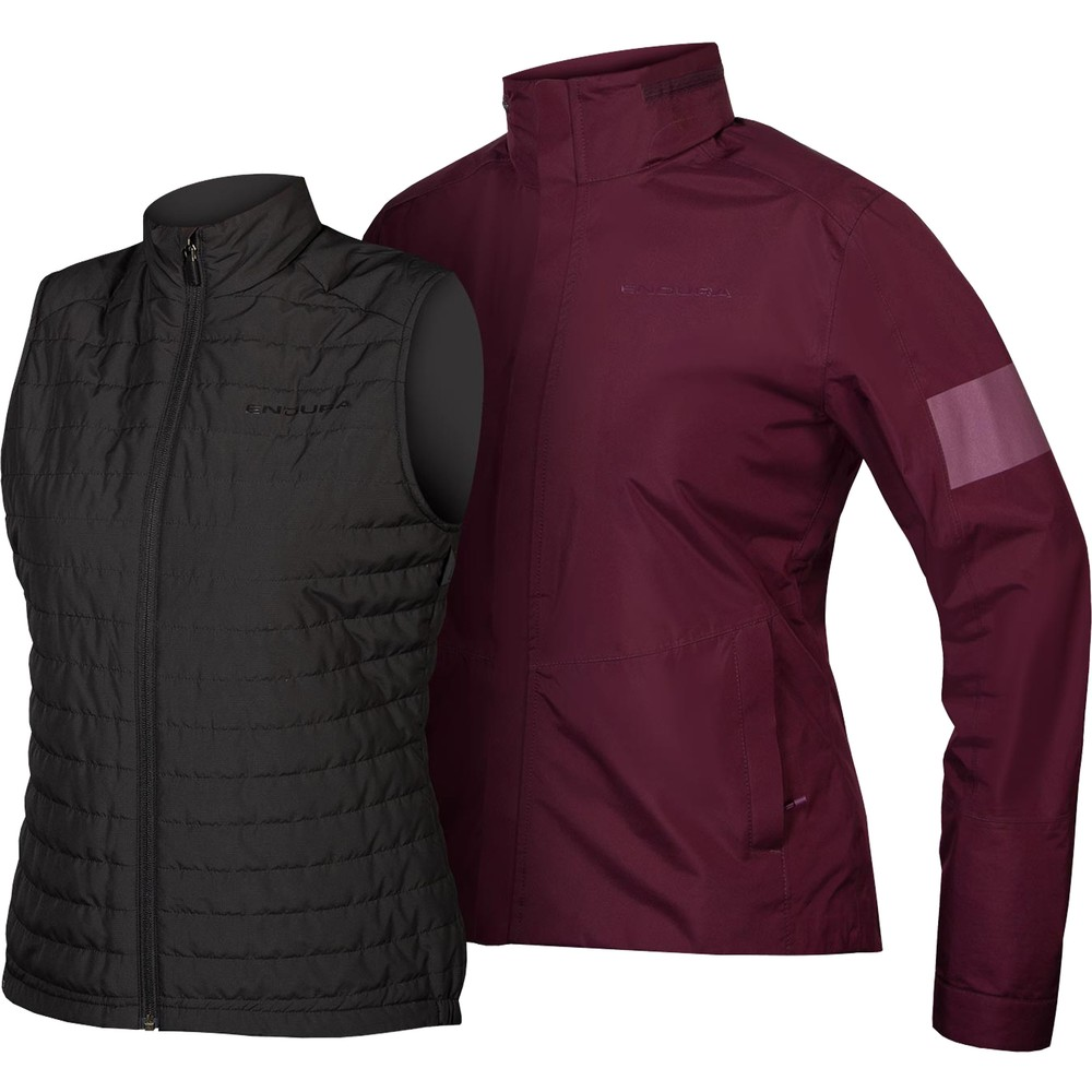 Endura Womens Urban 3 In 1 Jacket