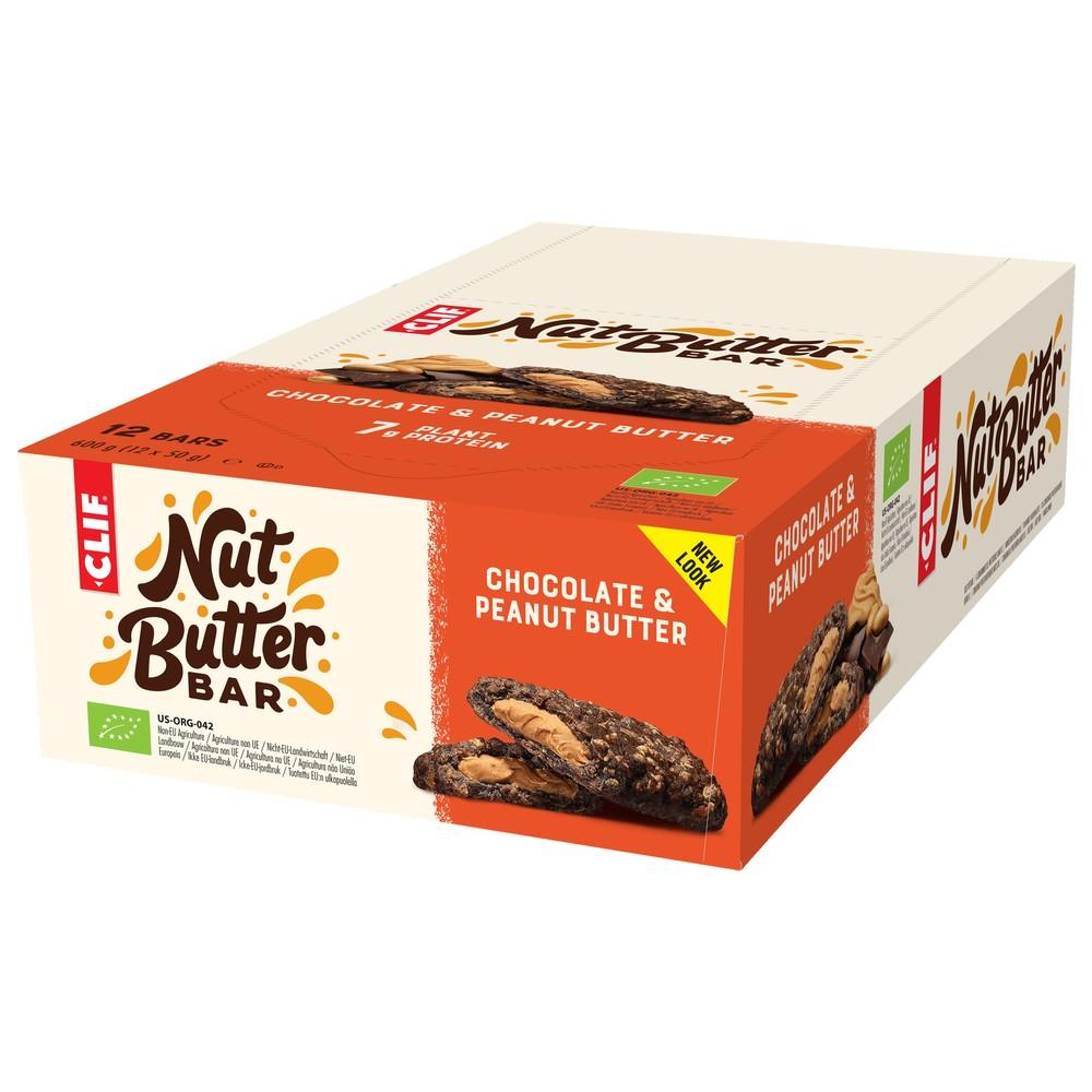 Clif Bar Nut Butter Filled Energy Bar Box Of 12 X 50g Bars