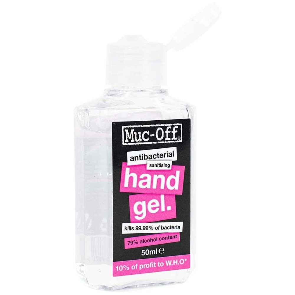 Muc-Off Anti-Bacterial Sanitising Hand Gel 50ml