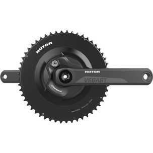 Rotor VEGAST 24mm NoQ INspider Power Meter Crankset With Aero Crown