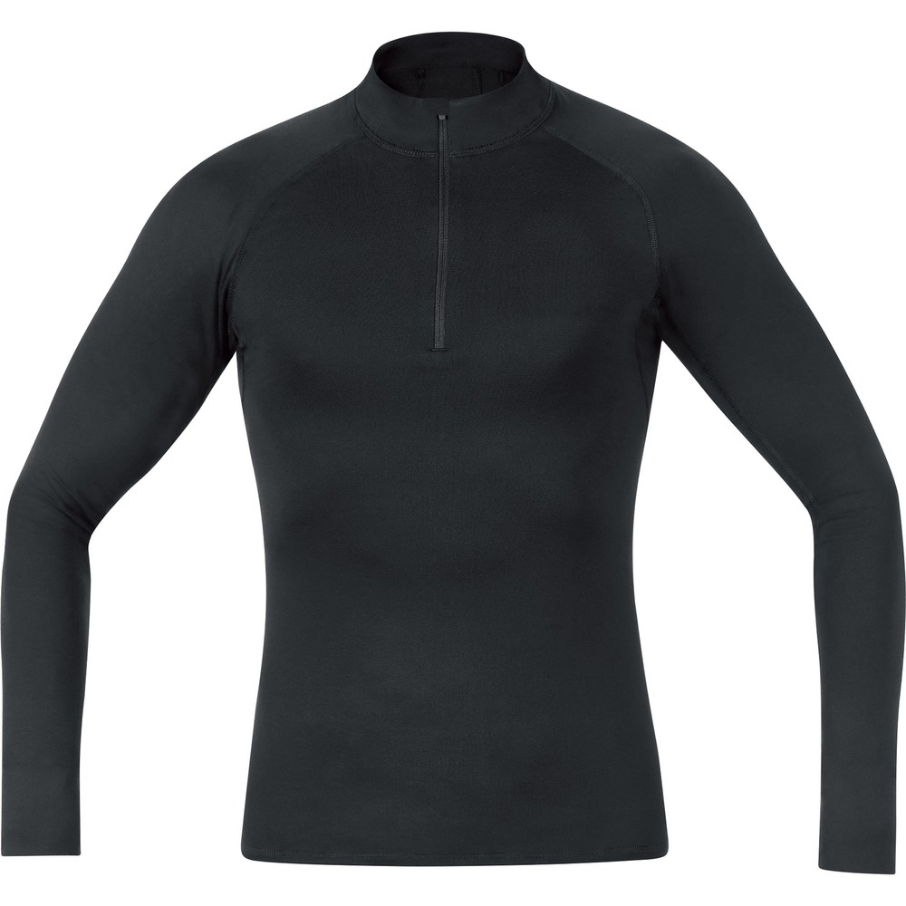 Gore Wear Thermo Long Sleeve Base Layer With Neck Warmer