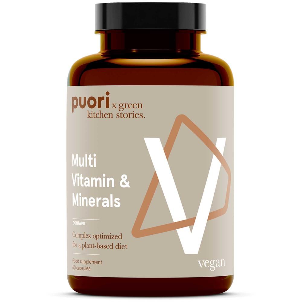 Puori V Multi Vitamin And Minerals - 60 Capsules