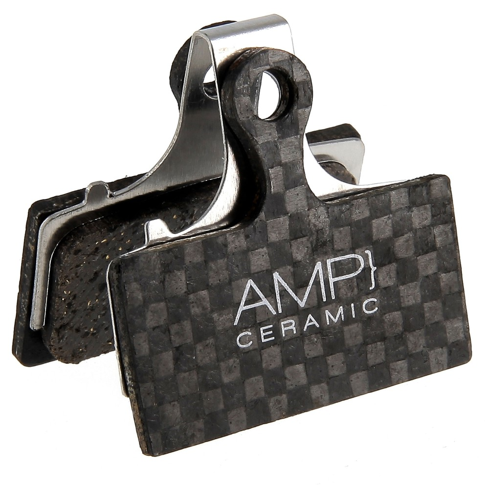 AMP Shimano XT/XTR/SLX Carbon Backed Disc Brake Pads - Ceramic