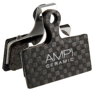 AMP Shimano XT/XTR/SLX Carbon Backed Disc Brake Pads - Ceramic
