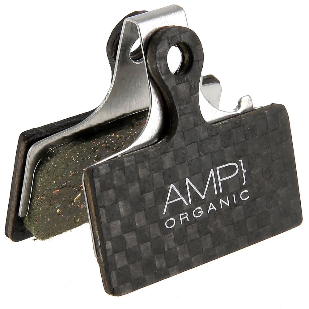 AMP Shimano XT/XTR/SLX Carbon Backed Disc Brake Pads - Organic
