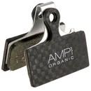 AMP Shimano XT/XTR/SLX Carbon Backed Disc Brake Pads - Organic
