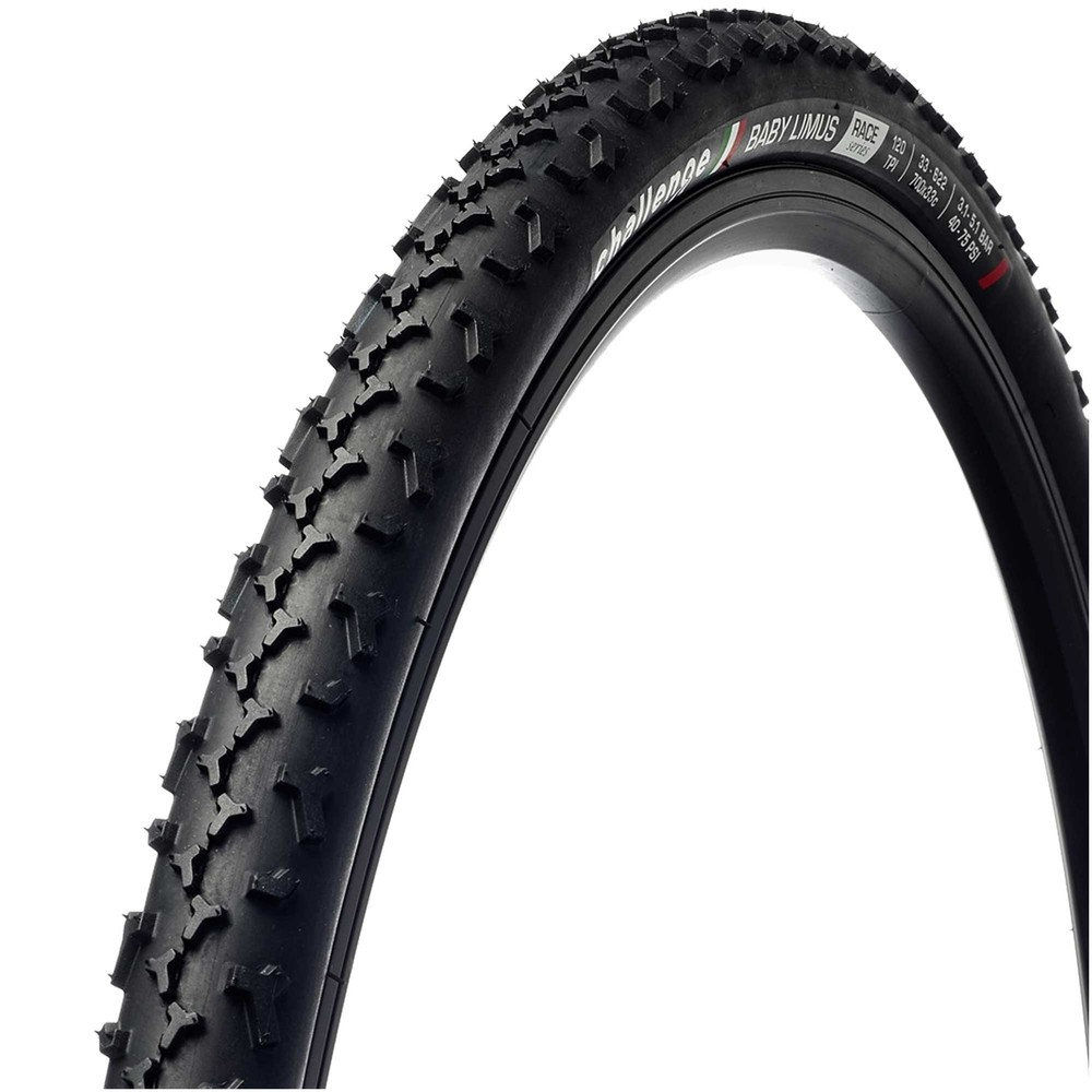 Challenge Baby Limus V-TLR Tubeless-Ready Clincher 33mm Tyre