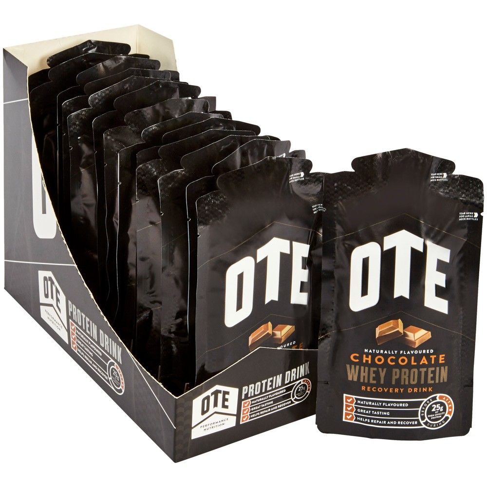 OTE  Whey Powdered Protein Recovery Drink 14 X 52g