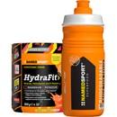 NAMEDSPORT HydraFit Energy Drink Mix 400g With HYDRA2PRO Sports Bottle