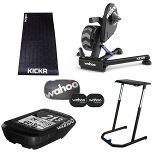 Wahoo Ultimate Cycling Wahooligan Turbo Trainer + ELEMNT BOLT Stealth Bundle