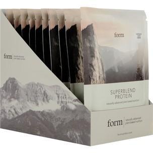 Form Nutrition Superblend Protein Powder 12x40g