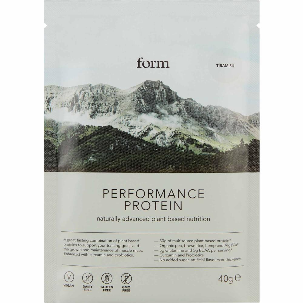 Form Nutrition Performance Protein Powder 40g Sachet