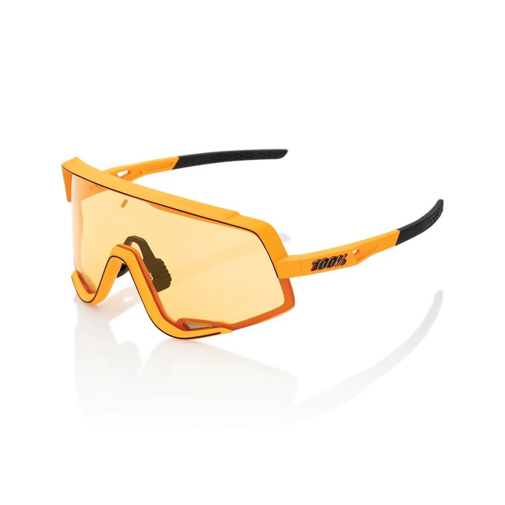 100% Glendale Sunglasses With Yellow Lens