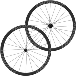 Knight Composites 35 Tubeless Aero Carbon Clincher R45 Wheelset