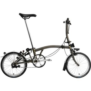 Brompton Black Edition S2L Superlight Folding Bike With Lacquer Finish