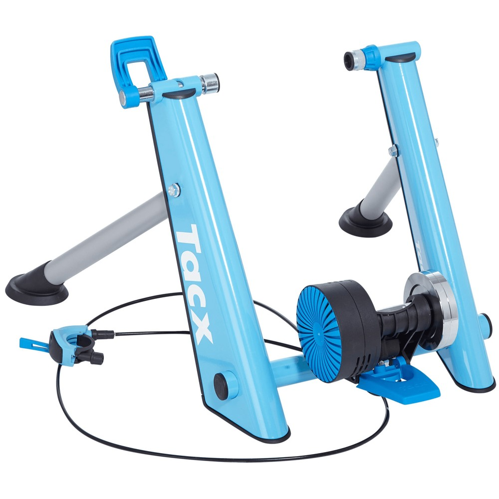 Tacx T2650 Blue Matic Folding Magnetic Turbo Trainer