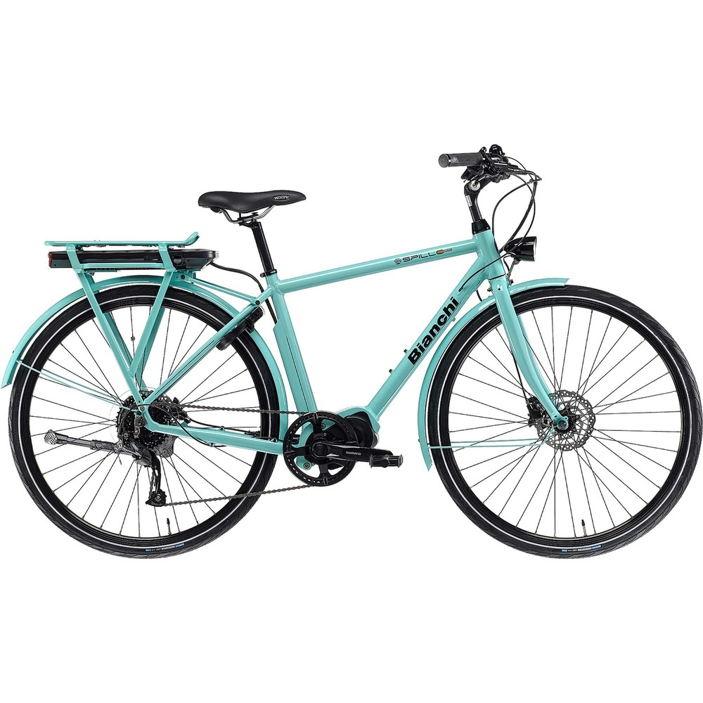 Bianchi E-Spillo Luxury Altus 9 Disc Womens Electric Hybrid Bike 2021