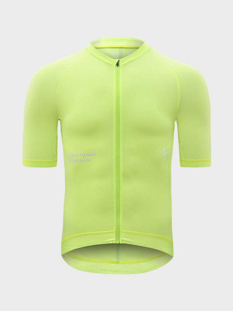 Mono Short Sleeve Men's Jersey Lime Green