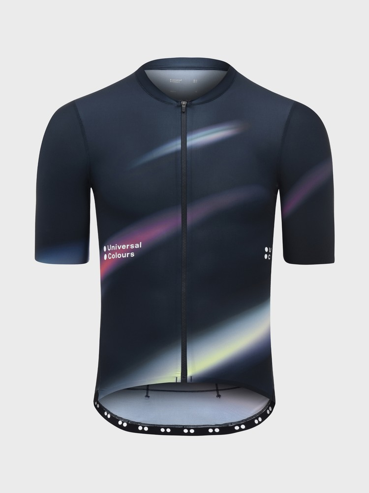 Spectrum Men's Short Sleeve Jersey Navy Blur