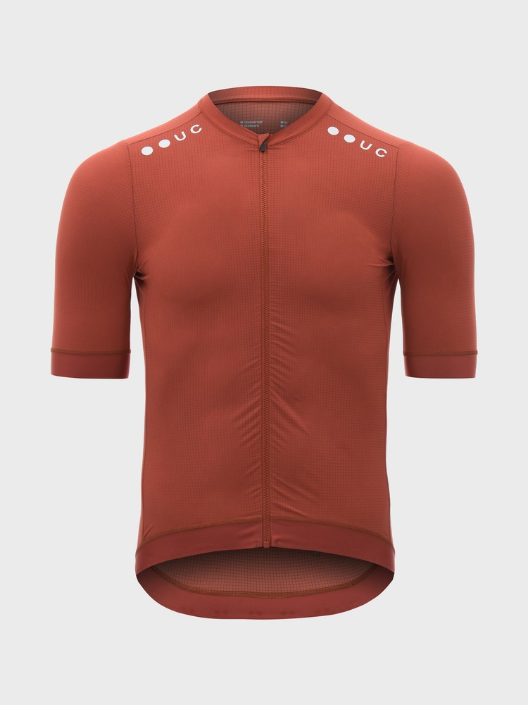Chroma Short Sleeve Men's Jersey Rusty Red