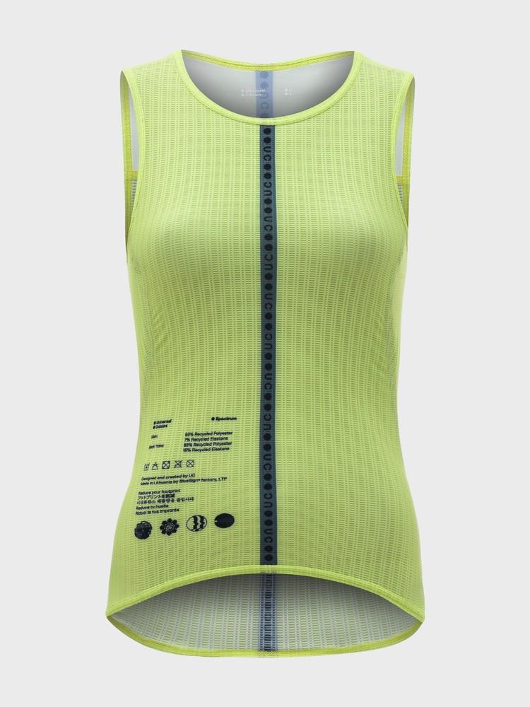 Spectrum Women's Sleeveless Base Layer Lime Green