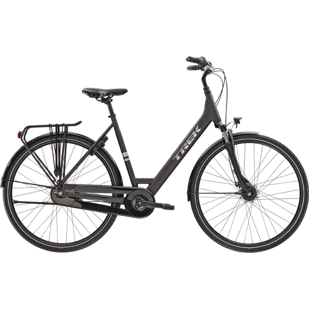 Trek District 1 EQ Lowstep Disc Hybrid Bike 2021