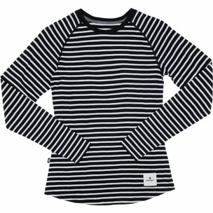 SAYSKY Striped Base 165 Merino Womens Long Sleeve Running Tee