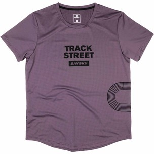 SAYSKY Track Street Combat Short Sleeve Running Tee